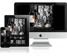 Robert Mondavi Private Selection Wine Responsive Design and Development - Intwine Marketing