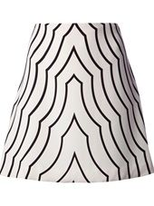 Marc By Marc Jacobs - pattern print skirt
