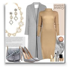 """""""Cosmic"""" by marionmeyer ❤ liked on Polyvore featuring Lulu Frost, ADAM, Chloé, Gianvito Rossi, Butter London, Ilia, Stila, Seletti and cosmicjewelry"""