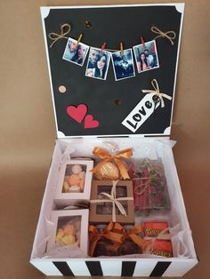 Diy Birthday, Birthday Cards, Birthday Gifts, Creative Gift Baskets, Creative Gifts, Bf Gifts, Cute Gifts, Gift Cake, New Crafts