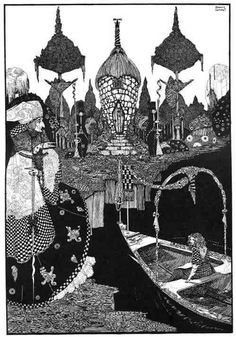 ハリー・クラーク/アンデルセン童話集のための挿絵                                                                                                                                                                                 もっと見る