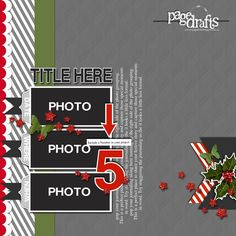 2013 Christmas Release Page Drafts - WE WISH YOU A MERRY CHRISTMAS for Dec 2013!