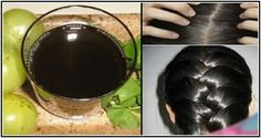 NO MORE HAIR DYE! THIS BLACK WATER WILL MAKE YOUR GRAY HAIR TO DISAPPEAR FOREVER!