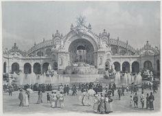 L'Exposition Universelle 1900: le Palais de l'électricité et le château d'eau