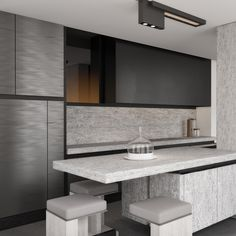 The newest vision on this matter is expressed in our newest kitchen design signed by the French architect Joseph Dirand and can be admired in our Paris showroom.