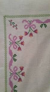 This Pin was discovered by HUZ Butterfly Cross Stitch, Cross Stitch Borders, Cross Stitch Flowers, Cross Stitch Designs, Cross Stitch Patterns, Hand Embroidery Stitches, Cross Stitch Embroidery, Embroidery Patterns, Cross Stitch For Kids