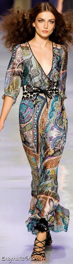 Etro Spring Summer Ready-To-Wear