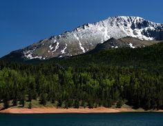 Climb Pikes Peak in Colorado!