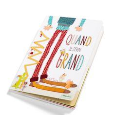 """Livre """" Quand je serai grand """" de chez #Lilliputiens pour que votre enfant ... #livrequandjeseraigrand #livrelilliputiens #leslilliputiens #"""