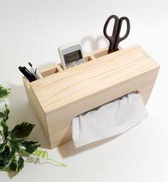 受注生産 ひのきのティッシュケース-muku-|その他家具|kirikabu|ハンドメイド通販・販売のCreema