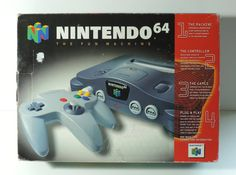 Nintendo 64 System by OvertimeCollectors on Etsy