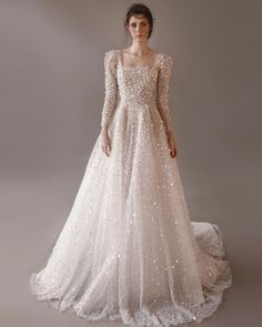 6 Beautiful Wedding Dress Trends in 2020 Unusual Wedding Dresses, Top Wedding Dresses, Wedding Dress Trends, Lace Wedding Dress With Sleeves, Long Sleeve Wedding, Lace Dress, White Dress, Traditional Gowns, Bridal Skirts