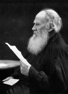 Russian writer Leo Tolstoy (1828 – 1910) photographed in May, 1910. #Leo_Tolstoy