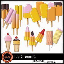 Ice Cream 2 Elements by Happy Scrap Art cudigitals.com cu commercial scrap scrapbook digitalgraphics#digitalscrapbooking #photoshop #digiscrap #scrapbooking