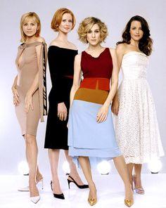Samantha, Miranda, Carrie and Charlotte.