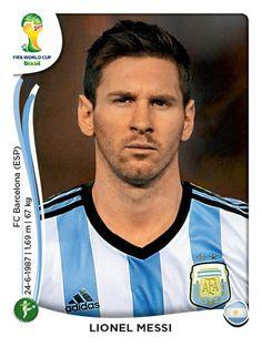430 Lionel Messi - Argentina - MUNDIAL BRASIL 2014