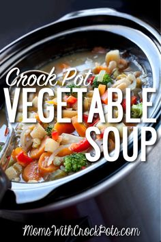 Warm up your family on a cold day with this amazing soup. It is full of vegetables and amazing flavo ...