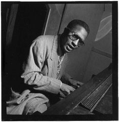 Portrait of Thelonious Monk, Minton's Playhouse, New York, N.Y., ca. Sept. 1947.