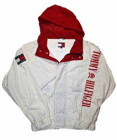 Vintage 90s Tommy Hilfiger Jacket Mens Size Large $150.00