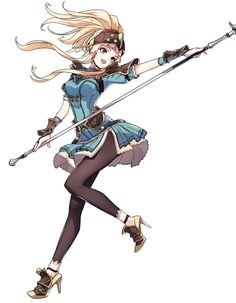 Clair Battle Stance from Fire Emblem: Heroes