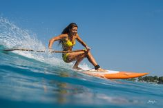 Paddle Board Surfing. #SUPSurf - I want to learn this!