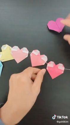 Paper craft diy Diy Crafts Hacks, Diy Crafts For Gifts, Diy Home Crafts, Diy Arts And Crafts, Crafts For Kids, Diys, Cool Paper Crafts, Paper Crafts Origami, Diy Paper