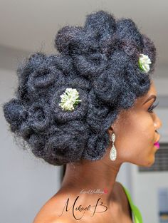 Becoming the OhEmGees: Nigerian comedian, Emma Oh ma God is set to wed Yetunde Shode Natural Hair Wedding, Natural Wedding Hairstyles, Wedding Bun, Bridal Hair Inspiration, Comedians, Natural Hair Styles, Crochet Earrings, Weddings, Health