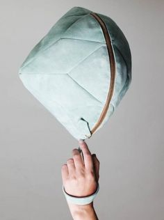 larissa hadjio geometric purses