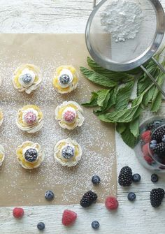 Try these super tasty and extremely easy to prepare Mini Lemon Tart Recipe with Phyllo Dough and Fresh Berries! @easyhomemeals