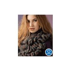 Ruffled Wrap FREE knitting pattern by Red Heart