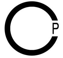 c p logo. I love this c.