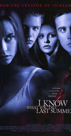 Directed by Jim Gillespie. With Jennifer Love Hewitt, Sarah Michelle Gellar, Anne Heche, Ryan Phillippe. After a nasty accident, four friends begin to drift apart. One year later Julie James gets a anonymous message and then a slicker wearing, hook wielding killer begins to rip apart her life.