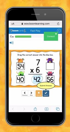 Multiplication Monster Math Facts Level 1 digital self-checking Boom Cards are a fun way for students to develop fluency with multiplication facts having factors from 2 to 9! #BoomCards #DigitalTaskCards #DistanceLearning #mathboomcards #mathfun Multiplication Facts, Math Facts, Teacher Hacks, Best Teacher, Engage In Learning, Google Classroom, Fun Math, Task Cards, Factors