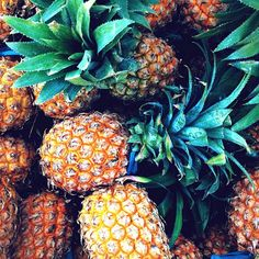 .@flickpalmateer | Pineapple orgy #peacelovebam #sumbawa @billabongwomens