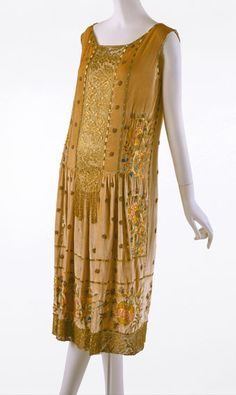 1925  dress by Jean Patou