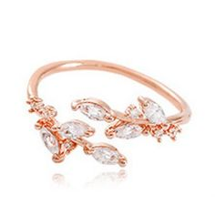 GET $50 NOW | Join Dresslily: Get YOUR $50 NOW!http://m.dresslily.com/faux-zircon-leaf-opening-ring-for-women-product1396685-html-product1396685.html?seid=brhO6UAQbAIChnfEhSb1fS99GO