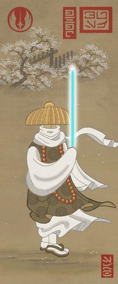 Star Wars Ukiyo-e style