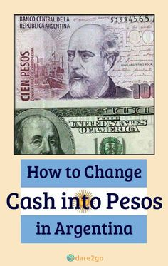 We show you ways to get cash Pesos in Argentina and take advantage of the much better 'Dollar Blue' exchange rates. Every visitor to Argentina should read this information before leaving home! Travel Guides, Travel Tips, Travel Info, Travel Abroad, Travel Essentials, Budget Travel, Colombia Travel, Argentina Travel, Equador