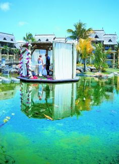 Wedding at the LUX* Belle Mare