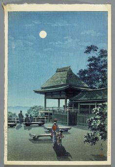 Tsuchiya Kōitsu (Japan, 1870-1949), Autumn Moon at Ishiyama Temple, October 1933, Gift of Mr. and Mrs. Felix Juda (M.73.37.477)