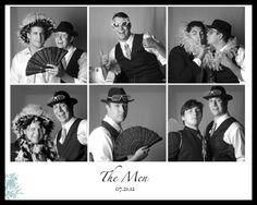 Wedding Photography, Groom & Groomsmen, Funny Photo Booth