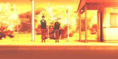 Free! Rei and Nagisa being cute