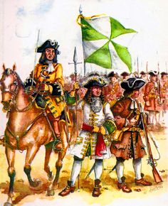 Portuguese troops, War of the Spanish Succession