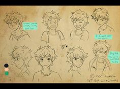 Percy Jackson - The Lightning Thief by linxchan91.deviantart.com on @deviantART