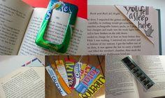Separadores de libros / Bookmarks