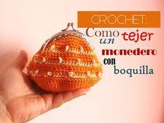Aprende a tejer un precioso ysencillo monedero con boquilla a crochet y también verás como hago yo el forro!!! ideal y fácil de hacer. OTRAS SUGERENCIAS PARA...