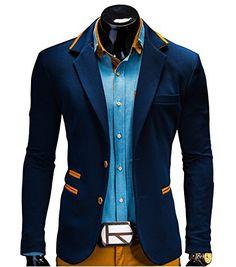 BetterStylz Juan Herren Sakko Jacket Blazer Freizeit Buisiness Jacke Slimfit Größen (S-XL) (S, Night Blue) BetterStylz http://www.amazon.de/dp/B00LGZEAH2/ref=cm_sw_r_pi_dp_0h5Vtb028XJV7T3R