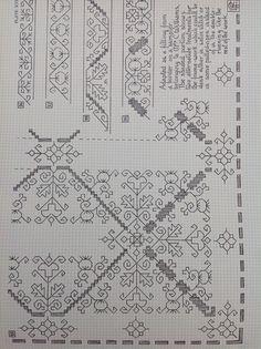 17th century sampler chart