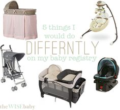 almost 3 years and 2 kids later - I would still make these adjustments to my original baby registry.