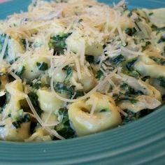 Spinach-Artichoke Cheesy Tortellini
